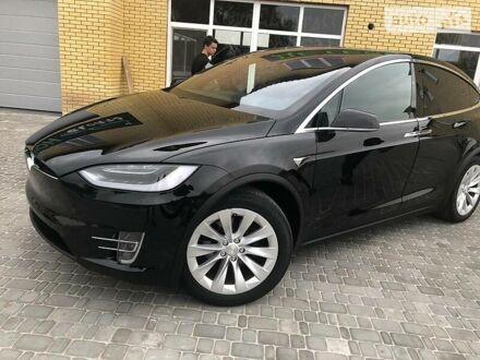 Черный Тесла Модель Х, объемом двигателя 0 л и пробегом 48 тыс. км за 59700 $, фото 1 на Automoto.ua