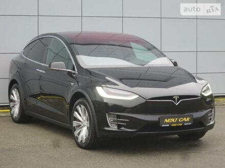 Черный Тесла Модель Х, объемом двигателя 0 л и пробегом 7 тыс. км за 135645 $, фото 1 на Automoto.ua