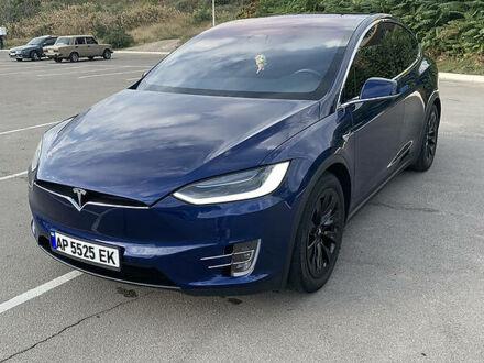 Синий Тесла Модель Х, объемом двигателя 0 л и пробегом 20 тыс. км за 59000 $, фото 1 на Automoto.ua
