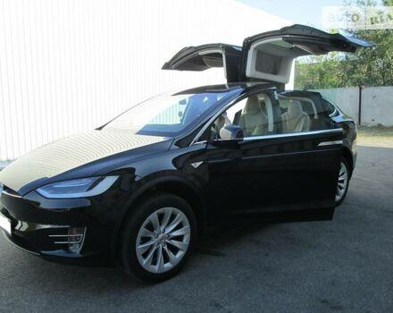 Черный Тесла Модель Х, объемом двигателя 0 л и пробегом 25 тыс. км за 135000 $, фото 1 на Automoto.ua