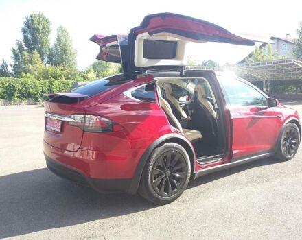 Красный Тесла Модель Х, объемом двигателя 0 л и пробегом 11 тыс. км за 95000 $, фото 1 на Automoto.ua
