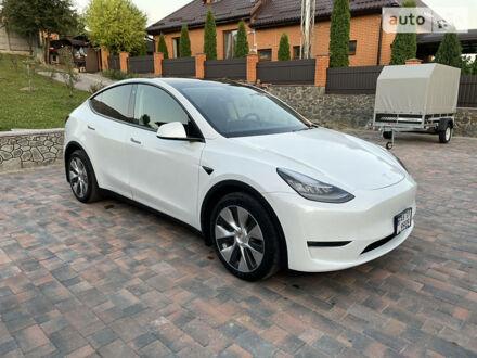 Білий Тесла Model Y, об'ємом двигуна 0 л та пробігом 8 тис. км за 63000 $, фото 1 на Automoto.ua