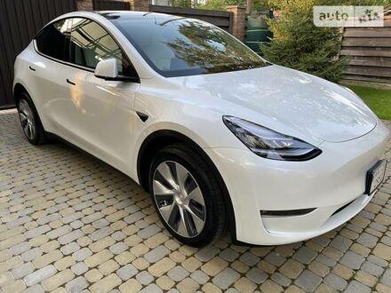 Білий Тесла Model Y, об'ємом двигуна 0 л та пробігом 4 тис. км за 59000 $, фото 1 на Automoto.ua