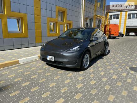 Серый Тесла Model Y, объемом двигателя 0 л и пробегом 17 тыс. км за 60000 $, фото 1 на Automoto.ua