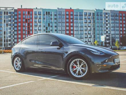 Сірий Тесла Model Y, об'ємом двигуна 0 л та пробігом 8 тис. км за 69999 $, фото 1 на Automoto.ua