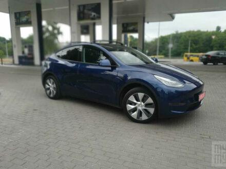 Синий Тесла Model Y, объемом двигателя 0 л и пробегом 8 тыс. км за 72000 $, фото 1 на Automoto.ua
