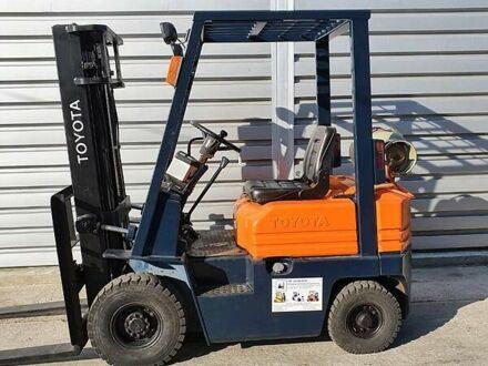 Оранжевый Тойота 5FG15, объемом двигателя 2.4 л и пробегом 4 тыс. км за 5929 $, фото 1 на Automoto.ua