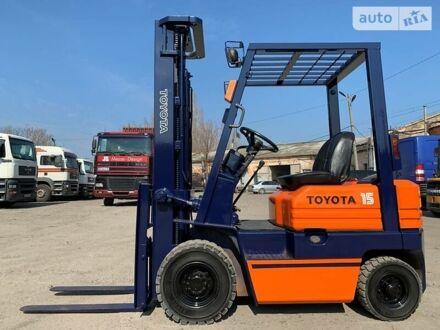 Оранжевый Тойота 5FGL, объемом двигателя 1.5 л и пробегом 5 тыс. км за 6500 $, фото 1 на Automoto.ua