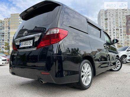 Чорний Тойота Алфард, об'ємом двигуна 2.4 л та пробігом 107 тис. км за 17500 $, фото 1 на Automoto.ua