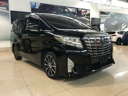Черный Тойота Алфард, объемом двигателя 2.5 л и пробегом 36 тыс. км за 43900 $, фото 1 на Automoto.ua