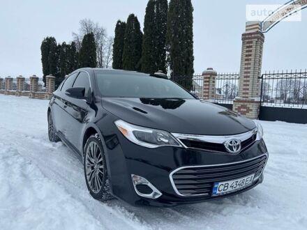 Черный Тойота Авалон, объемом двигателя 3.5 л и пробегом 144 тыс. км за 19000 $, фото 1 на Automoto.ua