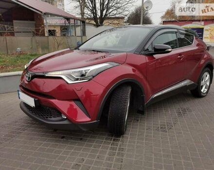 Красный Тойота C-HR, объемом двигателя 1.2 л и пробегом 23 тыс. км за 24500 $, фото 1 на Automoto.ua