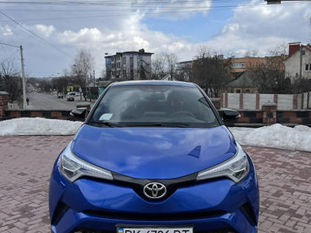 Синій Тойота C-HR, об'ємом двигуна 1.2 л та пробігом 57 тис. км за 22000 $, фото 1 на Automoto.ua
