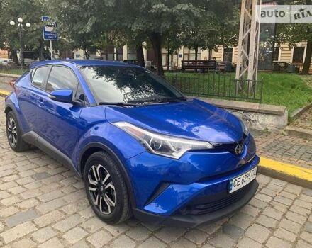 Синий Тойота C-HR, объемом двигателя 2 л и пробегом 16 тыс. км за 20500 $, фото 1 на Automoto.ua