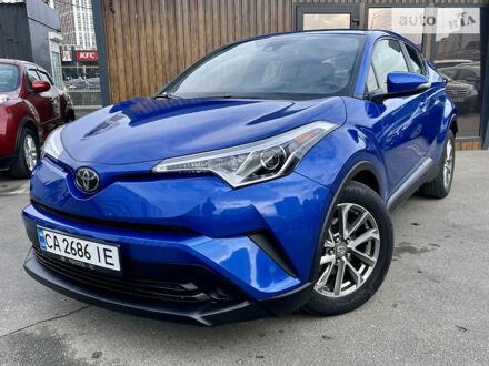 Синій Тойота C-HR, об'ємом двигуна 2 л та пробігом 42 тис. км за 20999 $, фото 1 на Automoto.ua
