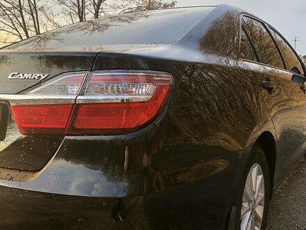 Черный Тойота Камри, объемом двигателя 2.5 л и пробегом 50 тыс. км за 24800 $, фото 1 на Automoto.ua