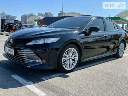Черный Тойота Камри, объемом двигателя 2.5 л и пробегом 60 тыс. км за 32500 $, фото 1 на Automoto.ua