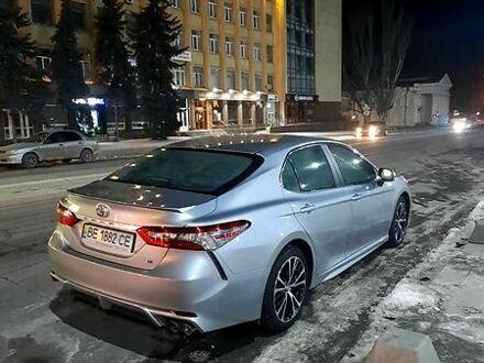 Серый Тойота Камри, объемом двигателя 2.5 л и пробегом 65 тыс. км за 24400 $, фото 1 на Automoto.ua