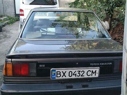 Серый Тойота Карина, объемом двигателя 1.5 л и пробегом 199 тыс. км за 3650 $, фото 1 на Automoto.ua