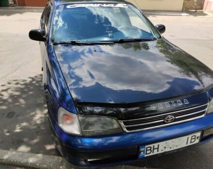 Синий Тойота Карина, объемом двигателя 2 л и пробегом 525 тыс. км за 3200 $, фото 1 на Automoto.ua