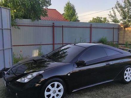 Черный Тойота Селика, объемом двигателя 1.8 л и пробегом 216 тыс. км за 5000 $, фото 1 на Automoto.ua
