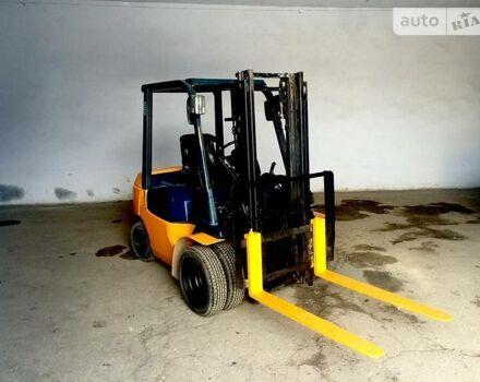 Оранжевый Тойота ФД, объемом двигателя 2.5 л и пробегом 2 тыс. км за 8500 $, фото 1 на Automoto.ua
