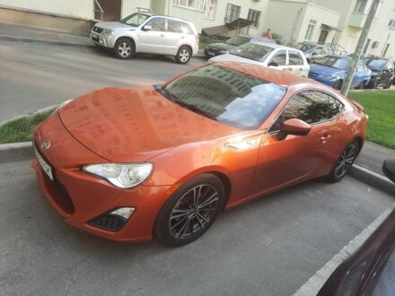 Оранжевый Тойота ГТ 86, объемом двигателя 2 л и пробегом 80 тыс. км за 16000 $, фото 1 на Automoto.ua
