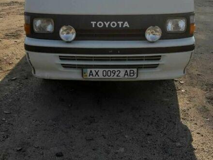 Белый Тойота Хиасе, объемом двигателя 2.4 л и пробегом 200 тыс. км за 4000 $, фото 1 на Automoto.ua