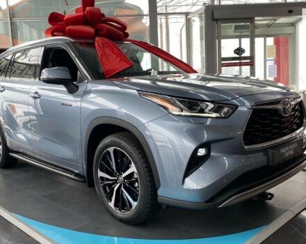 купити нове авто Тойота Хайлендер 2021 року від офіційного дилера Тойота на Столичному Тойота фото