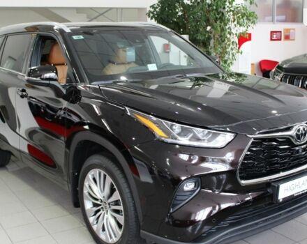 купити нове авто Тойота Хайлендер 2021 року від офіційного дилера Тойота Центр «Алмаз Мотор» Тойота фото