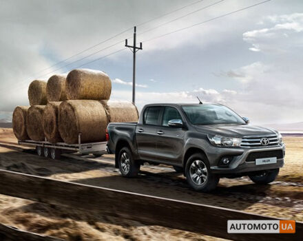 Тойота Хайлюкс, объемом двигателя 2.4 л и пробегом 0 тыс. км за 31930 $, фото 1 на Automoto.ua