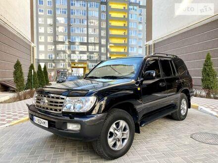 Черный Тойота Ленд Крузер 100, объемом двигателя 4.2 л и пробегом 192 тыс. км за 25950 $, фото 1 на Automoto.ua