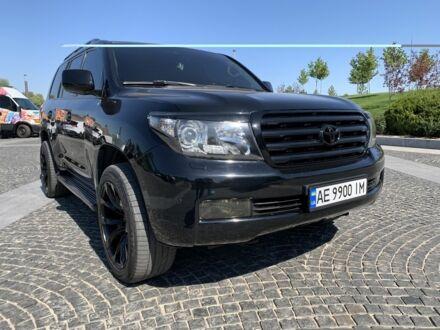 Черный Тойота Ленд Крузер 200, объемом двигателя 4.7 л и пробегом 186 тыс. км за 37000 $, фото 1 на Automoto.ua