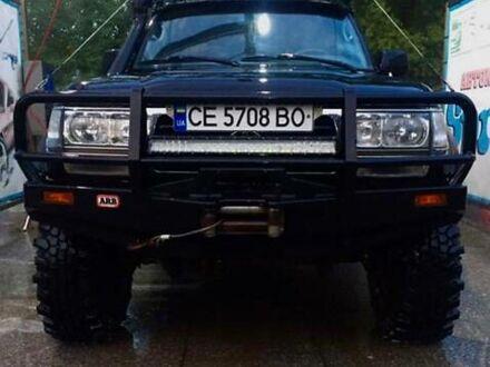 Черный Тойота Ленд Крузер 80, объемом двигателя 4.2 л и пробегом 479 тыс. км за 25000 $, фото 1 на Automoto.ua