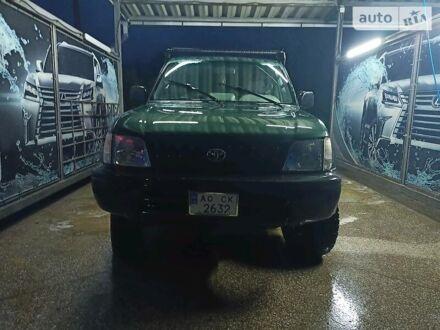 Зеленый Тойота Ленд Крузер 90, объемом двигателя 3 л и пробегом 361 тыс. км за 9700 $, фото 1 на Automoto.ua