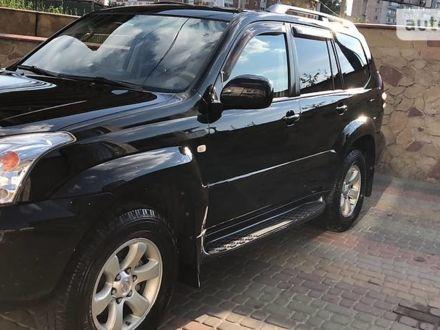 Черный Тойота Ленд Крузер Прадо, объемом двигателя 4 л и пробегом 285 тыс. км за 19999 $, фото 1 на Automoto.ua