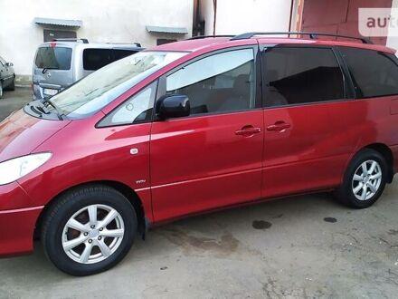 Красный Тойота Превиа, объемом двигателя 2.4 л и пробегом 234 тыс. км за 9900 $, фото 1 на Automoto.ua