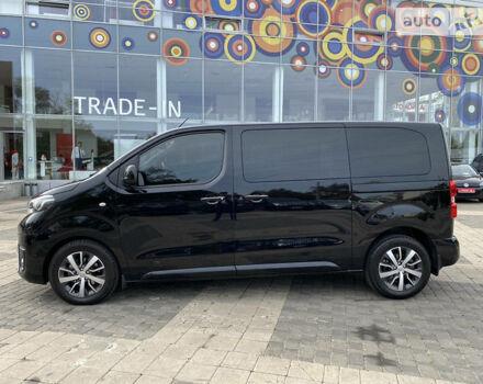 Черный Тойота Proace Verso, объемом двигателя 2 л и пробегом 39 тыс. км за 43500 $, фото 1 на Automoto.ua