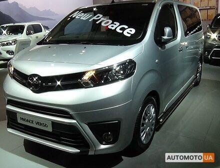 Тойота Proace Verso, объемом двигателя 2 л и пробегом 0 тыс. км за 37055 $, фото 1 на Automoto.ua