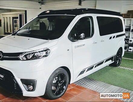 Тойота Proace Verso, объемом двигателя 2 л и пробегом 0 тыс. км за 37660 $, фото 1 на Automoto.ua