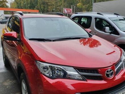Красный Тойота РАВ 4, объемом двигателя 2.5 л и пробегом 104 тыс. км за 16900 $, фото 1 на Automoto.ua