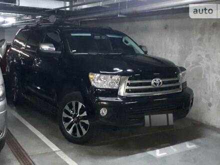 Черный Тойота Секвойя, объемом двигателя 5.7 л и пробегом 114 тыс. км за 42900 $, фото 1 на Automoto.ua