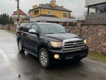 Черный Тойота Секвойя, объемом двигателя 5.7 л и пробегом 111 тыс. км за 38500 $, фото 1 на Automoto.ua