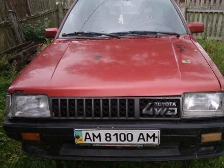 Красный Тойота Терцел, объемом двигателя 1.5 л и пробегом 400 тыс. км за 2000 $, фото 1 на Automoto.ua