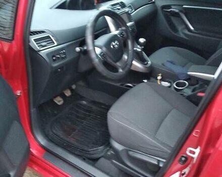 Червоний Тойота Версо, об'ємом двигуна 2 л та пробігом 170 тис. км за 13500 $, фото 1 на Automoto.ua