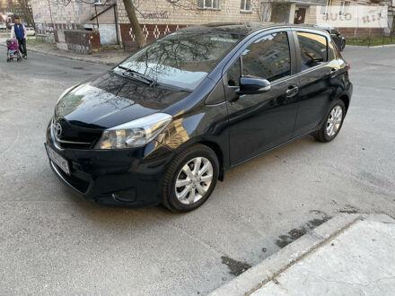 Черный Тойота Ярис, объемом двигателя 1.3 л и пробегом 68 тыс. км за 10200 $, фото 1 на Automoto.ua