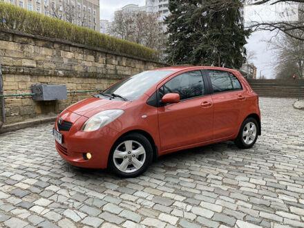 Червоний Тойота Яріс, об'ємом двигуна 1.3 л та пробігом 125 тис. км за 6650 $, фото 1 на Automoto.ua