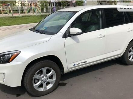 Белый Тойота RAV4 EV, объемом двигателя 0 л и пробегом 98 тыс. км за 16900 $, фото 1 на Automoto.ua