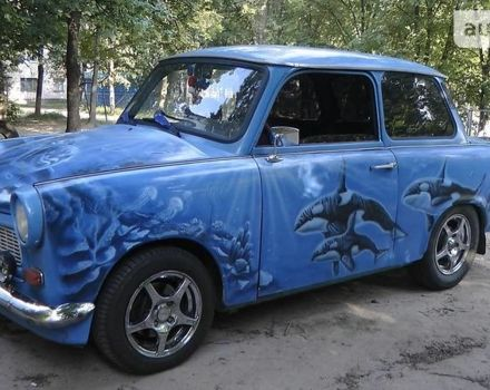 Голубой Трабант 1.1, объемом двигателя 1.3 л и пробегом 1 тыс. км за 0 $, фото 1 на Automoto.ua