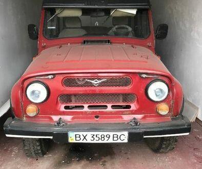 Красный УАЗ 3151, объемом двигателя 2.45 л и пробегом 55 тыс. км за 2500 $, фото 1 на Automoto.ua